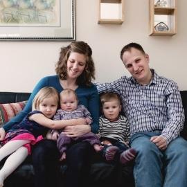 Ervaring van ouders met drie kinderen