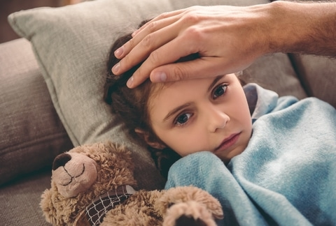 Nieuwsbericht: Hoe ga je als gastouder om met koortsige kinderen?